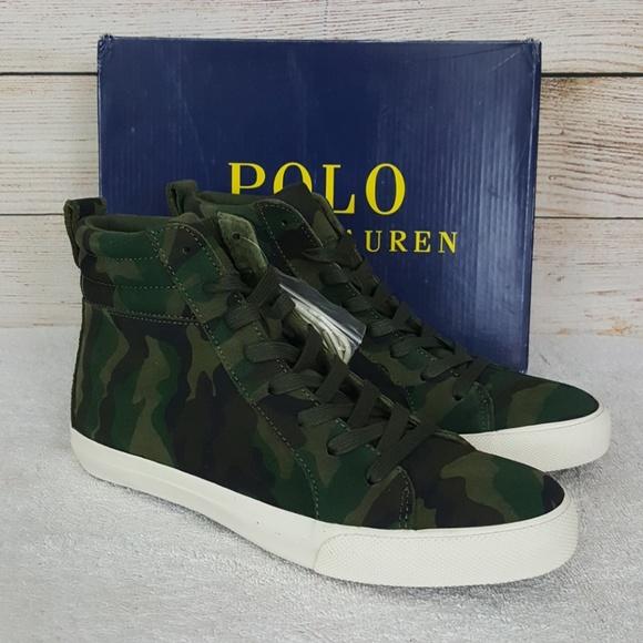 New Ralph Camo Polo Sneakers Gaven Lauren Nwt QxeWEdBorC